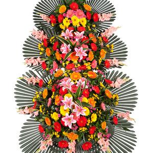 축하3단화환(꽃축복)