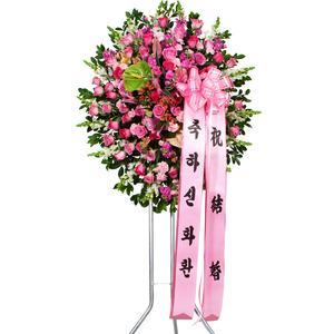 장미)신화환1단(행사전시회인기상품)
