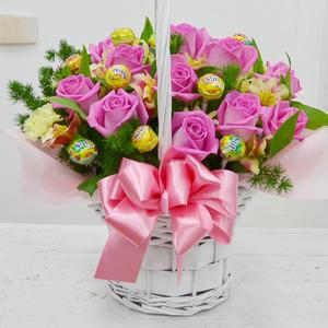 사탕바구니(핑크)★인기상품★